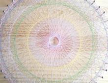 「素数の糸かけ曼荼羅づくりワークショップ」